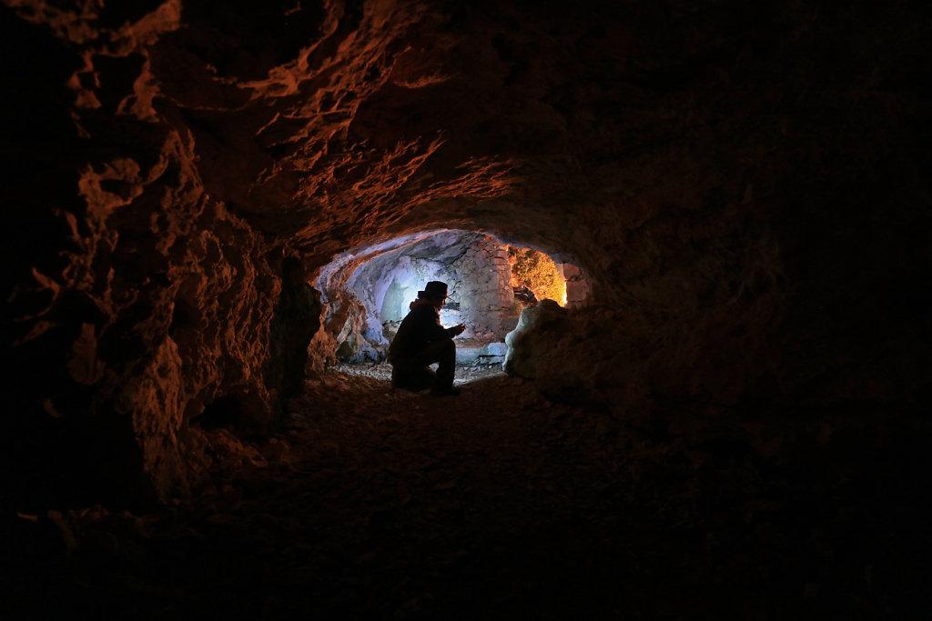 Grotte chapelle ND de Calern